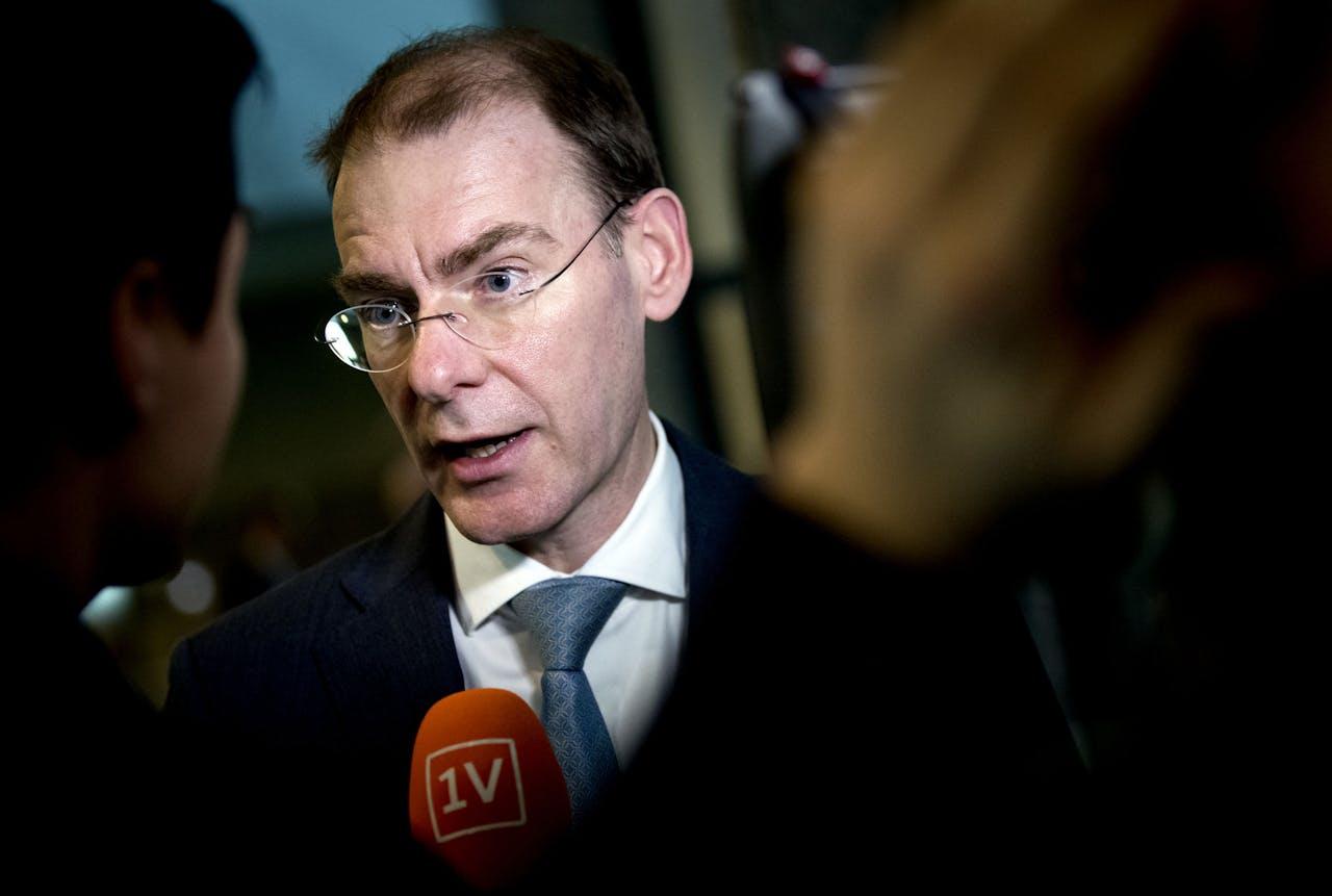 Menno Snel, staatssecretaris van Financiën tijdens het wekelijkse vragenuur in de Tweede Kamer.