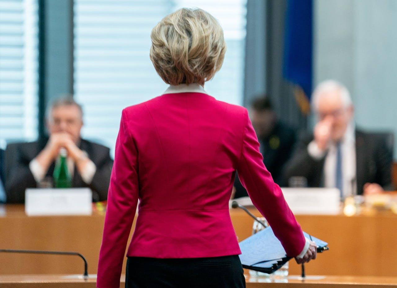 Von der Leyen in de Bundestag
