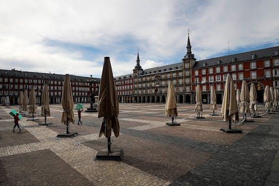 Ook Madrid gaat langzaam weer open