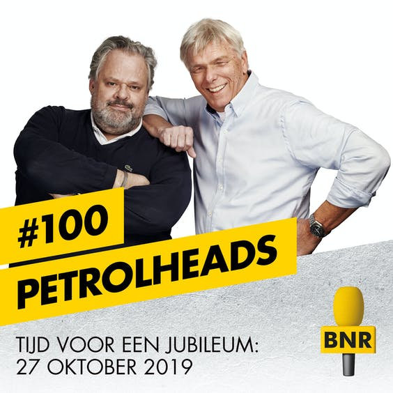 Zondag 27 oktober: 100ste aflevering van Petrolheads. Bestel hier je kaarten.