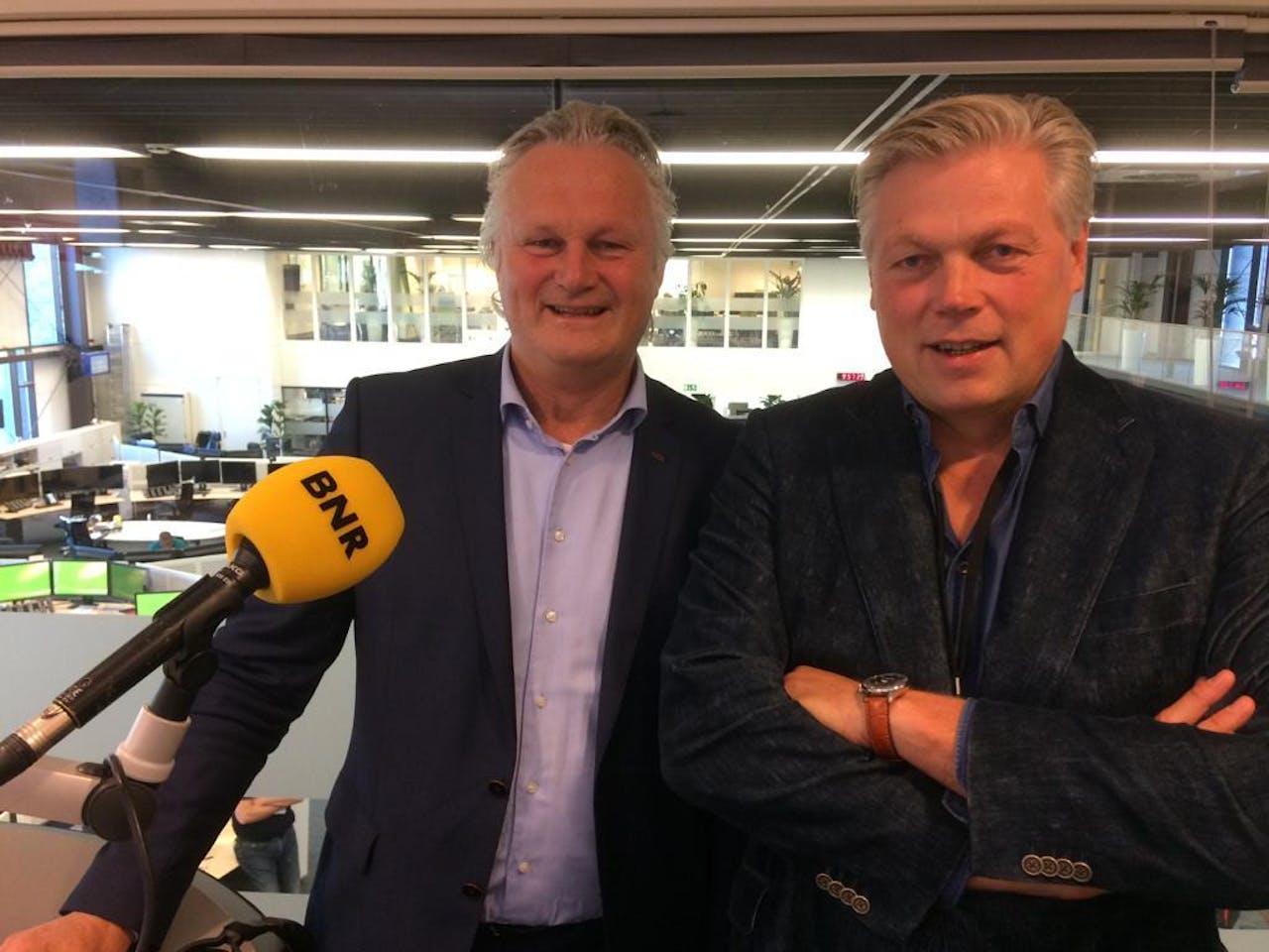 Roelof Hemmen & Pier Eringa, CEO van ProRail