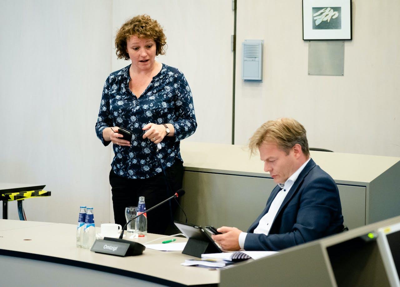 Renske Leijten (SP) en Pieter Omtzigt (CDA)