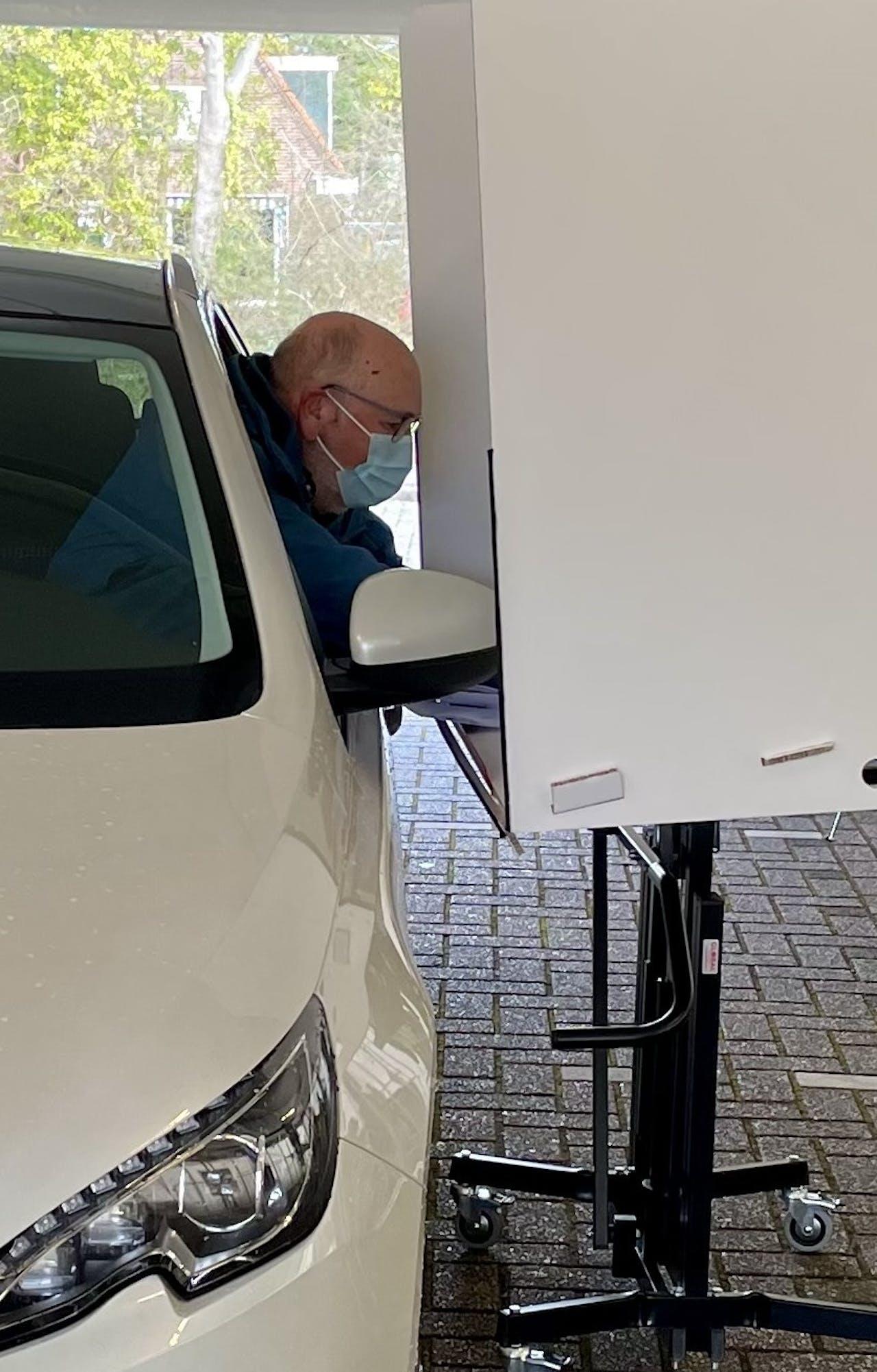 Drive-thru-stembureau Spijkenisse