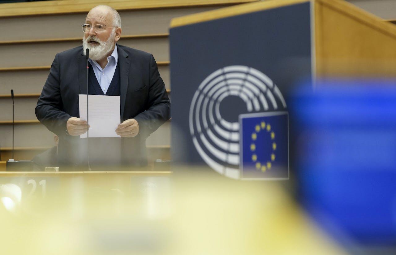 EC-vice-voorzitter Frans Timmermans