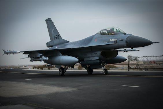 Nederlandse F16 in Jordanië