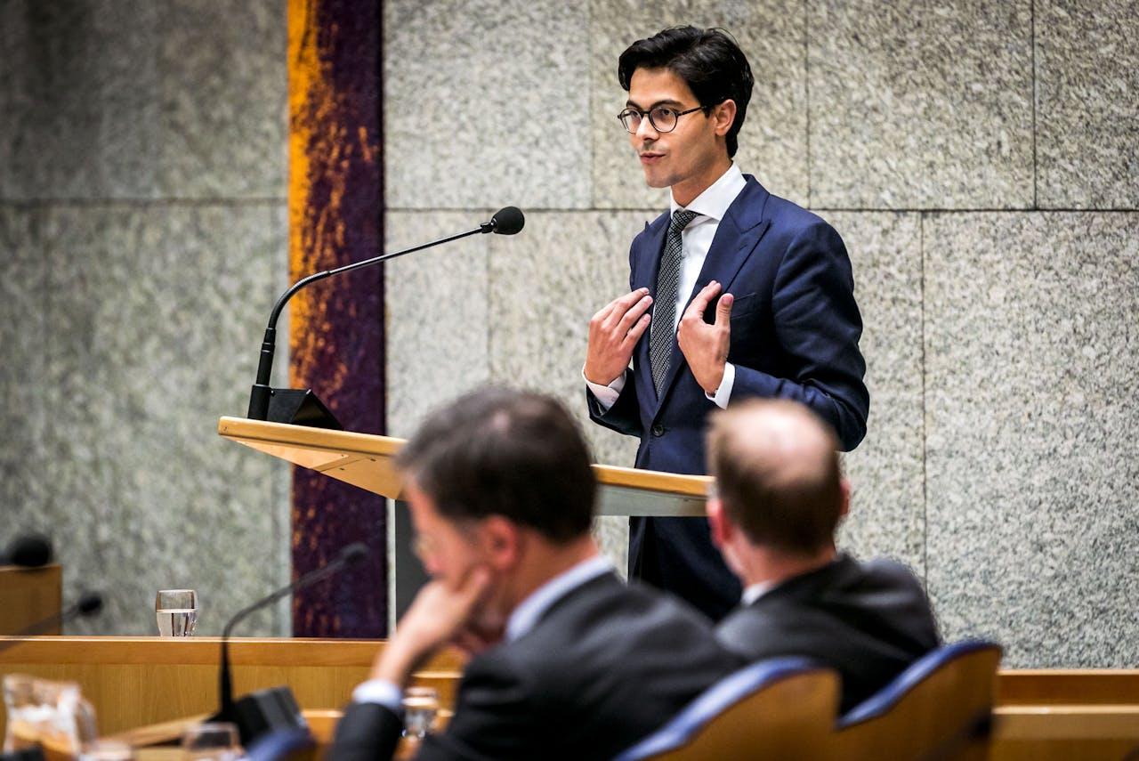 Rob Jetten, fractievoorzitter van D66.
