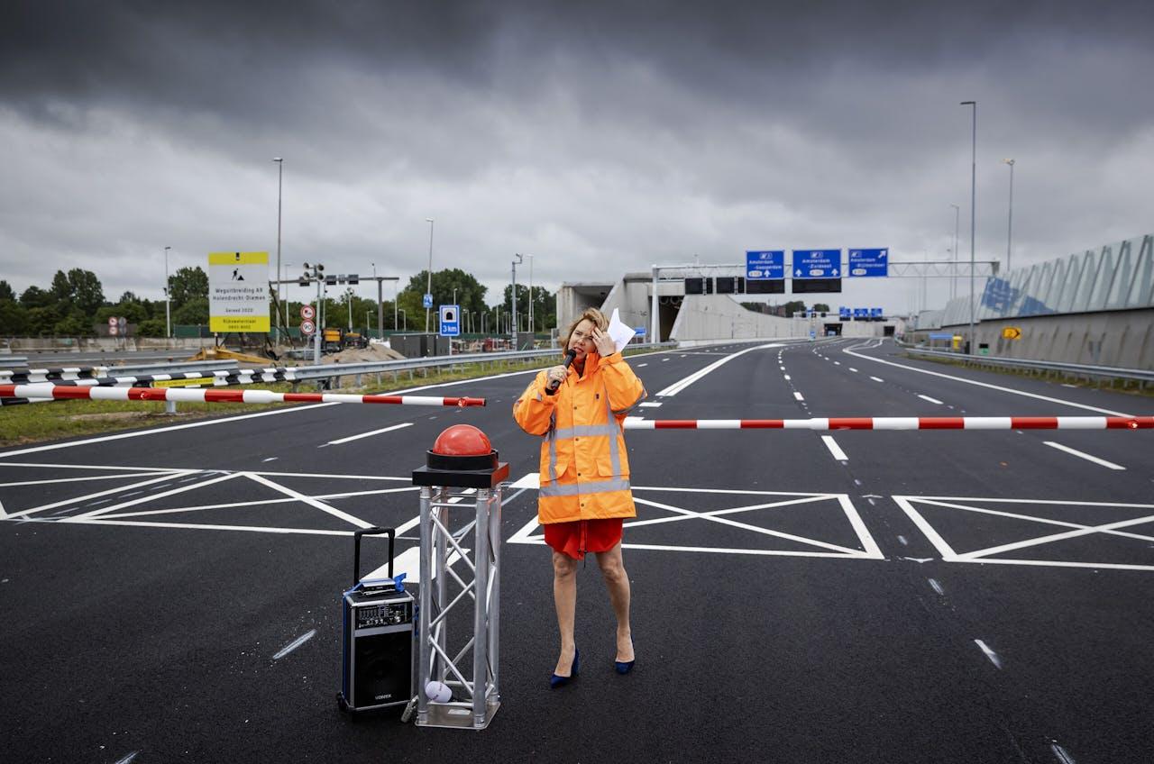 Minister Cora van Nieuwenhuizen (Infrastructuur en Waterstaat)