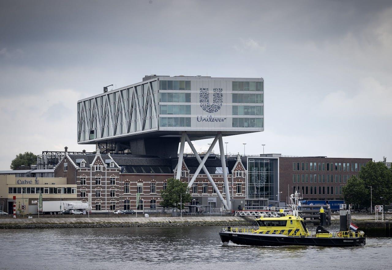 Het hoofdkantoor van Unilever in Rotterdam
