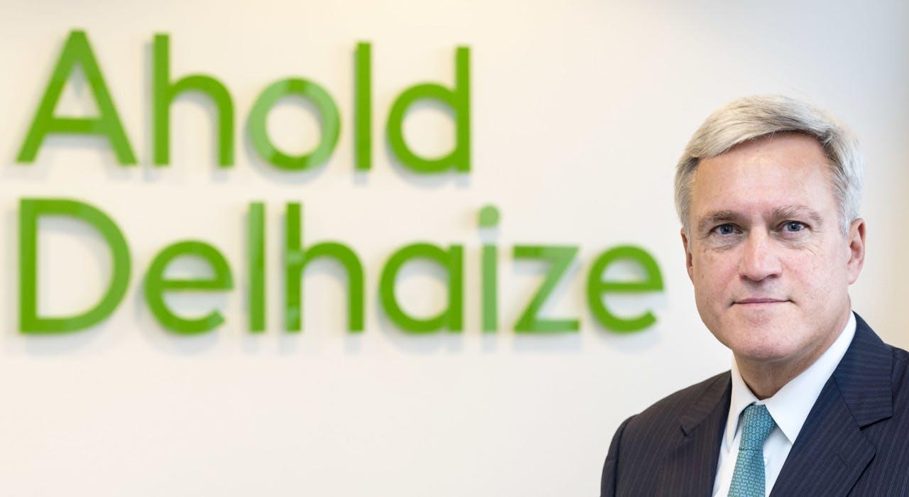 Frans Muller, CEO Ahold Delhaize.