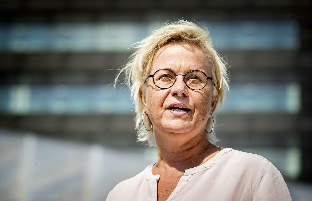 Directeur-generaal Michèle Blom van Rijkswaterstaat.