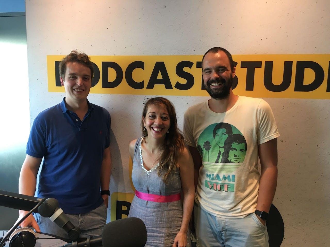 Sywert van Lienden, Ebru Umar en Bart Nijman