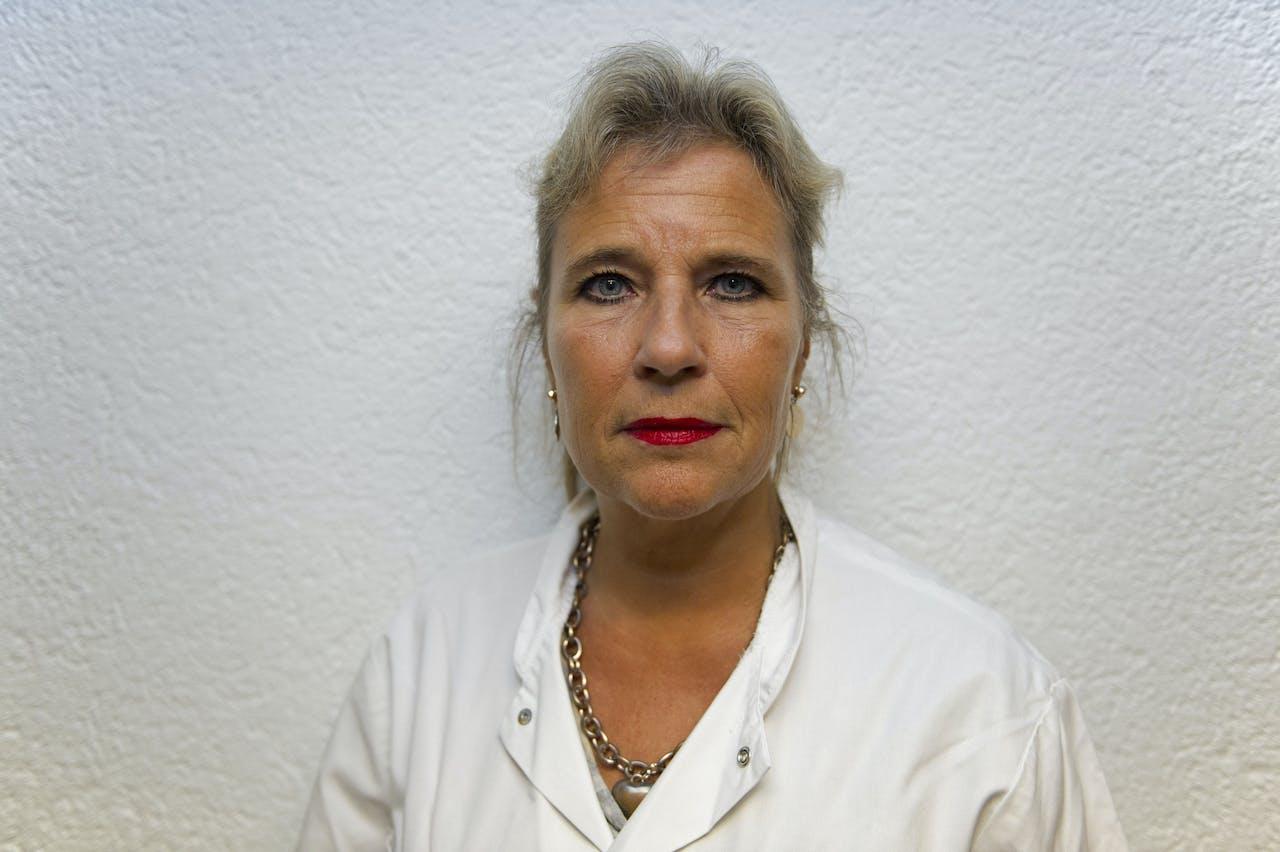 Longarts Wanda de Kanter in het Slotervaartziekenhuis.
