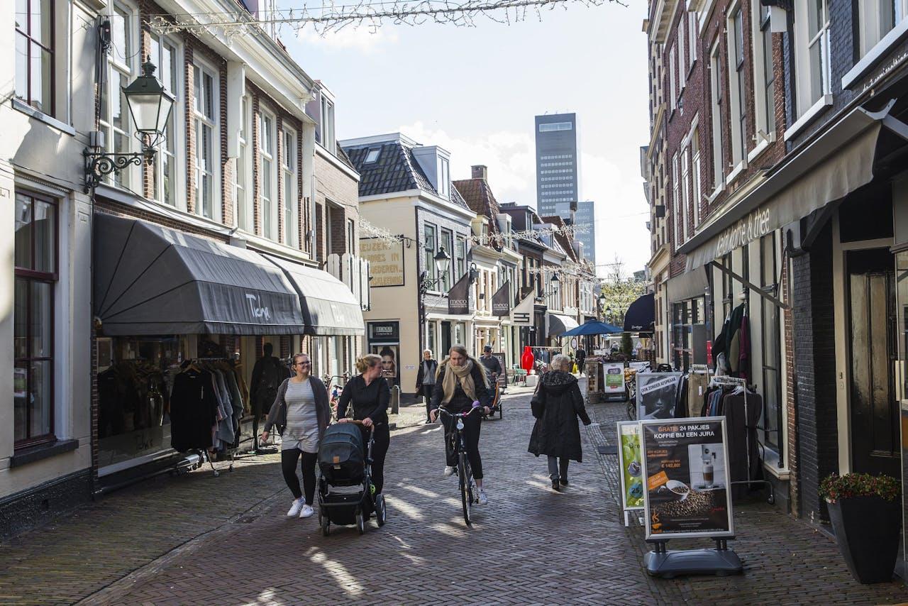 Winkelstraat in Leeuwarden.