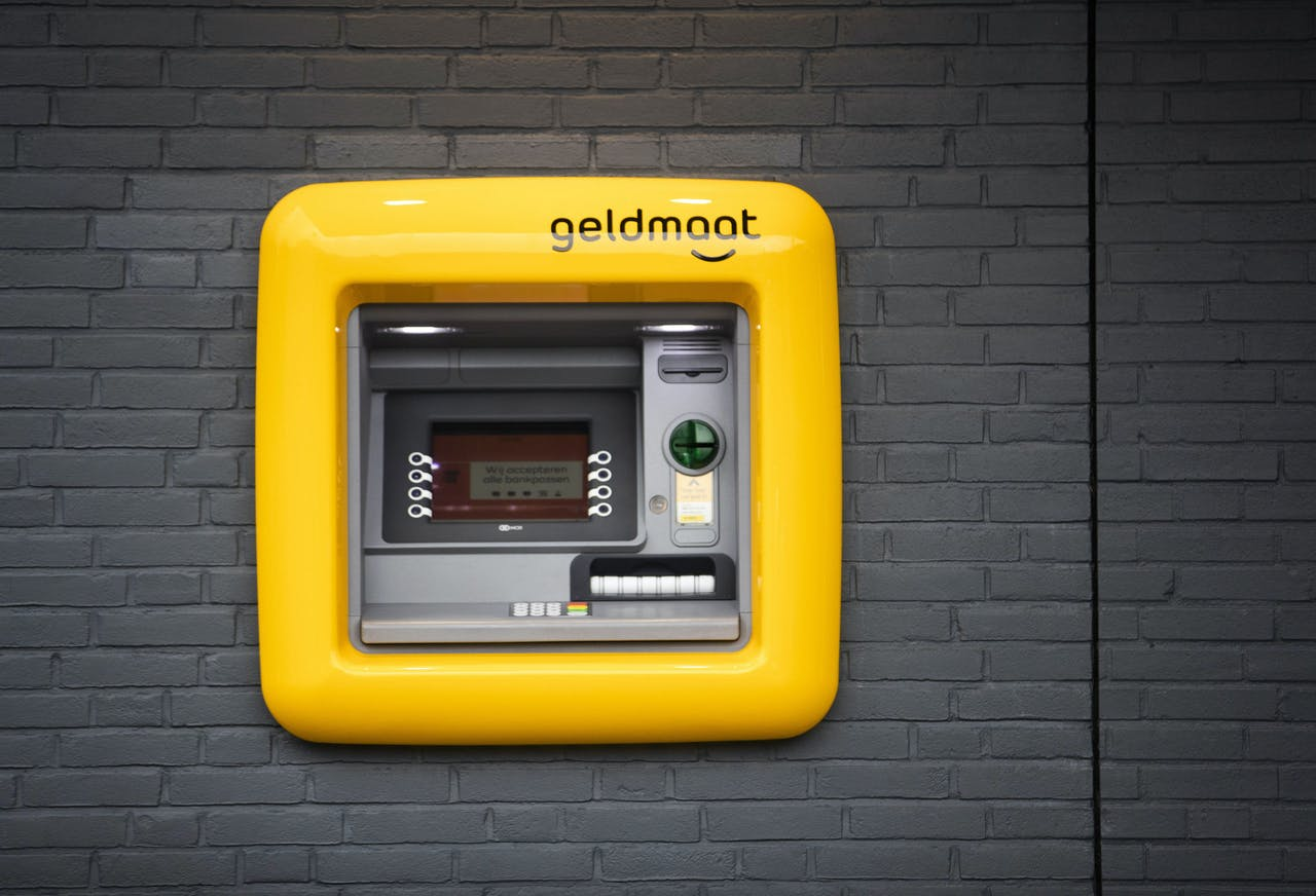 De eerste zogenaamde Geldmaat in gebruik.