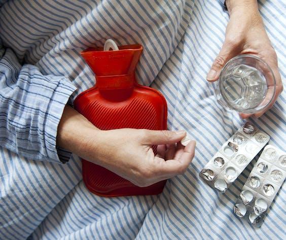Het ziekteverzuim ligt ongeveer even hoog als aan het begin van een normale griepgolf.