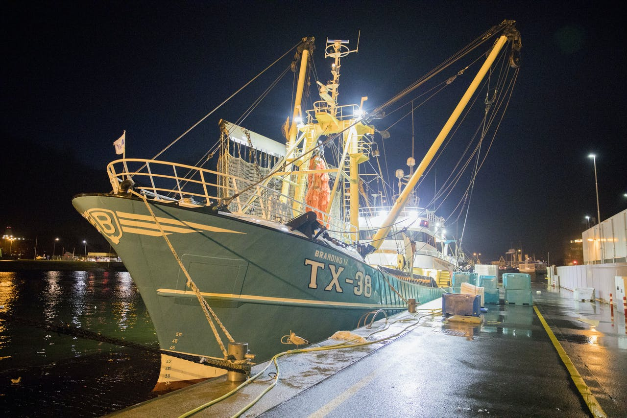 Een Texelse vissersboot