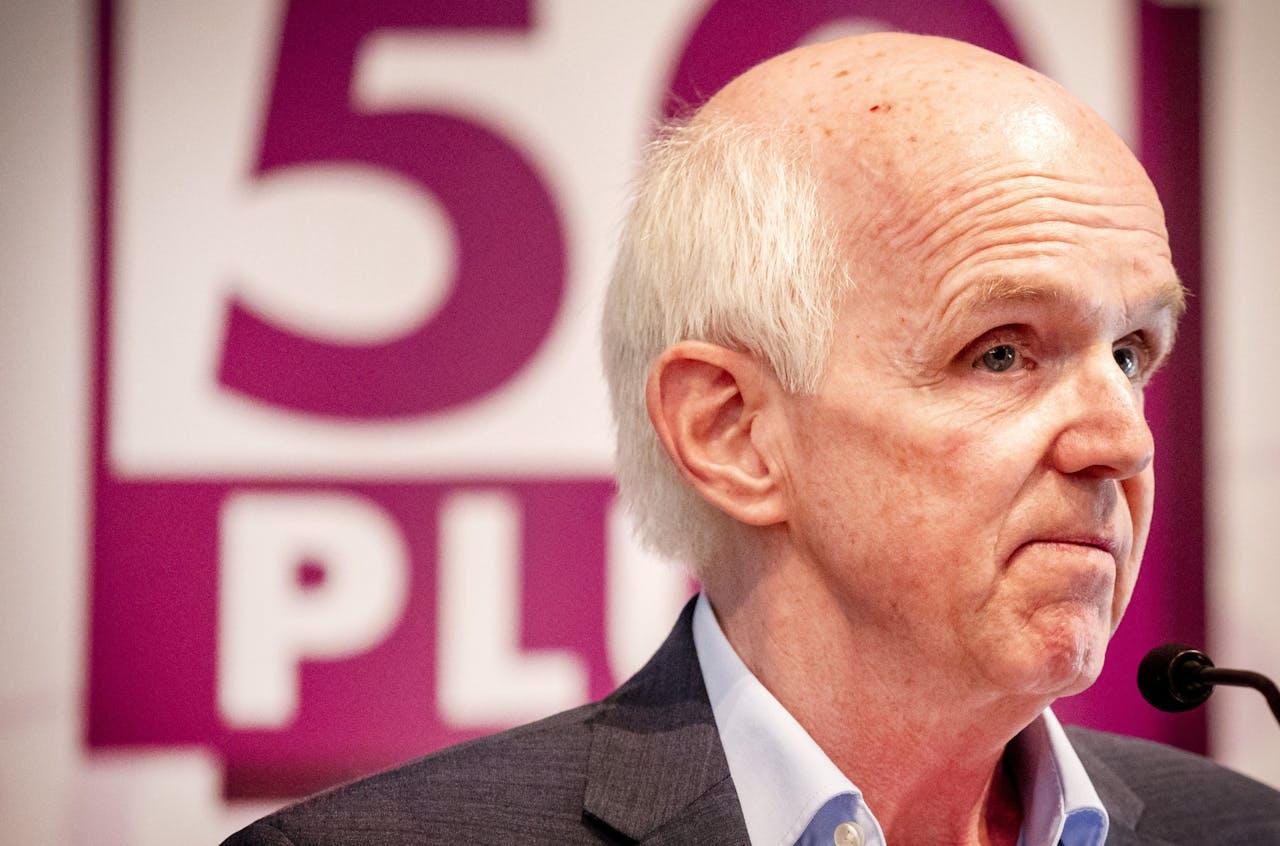 50PLUS-partijvoorzitter Geert Dales.