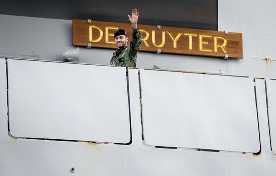Het fregat Zr. Ms. De Ruyter