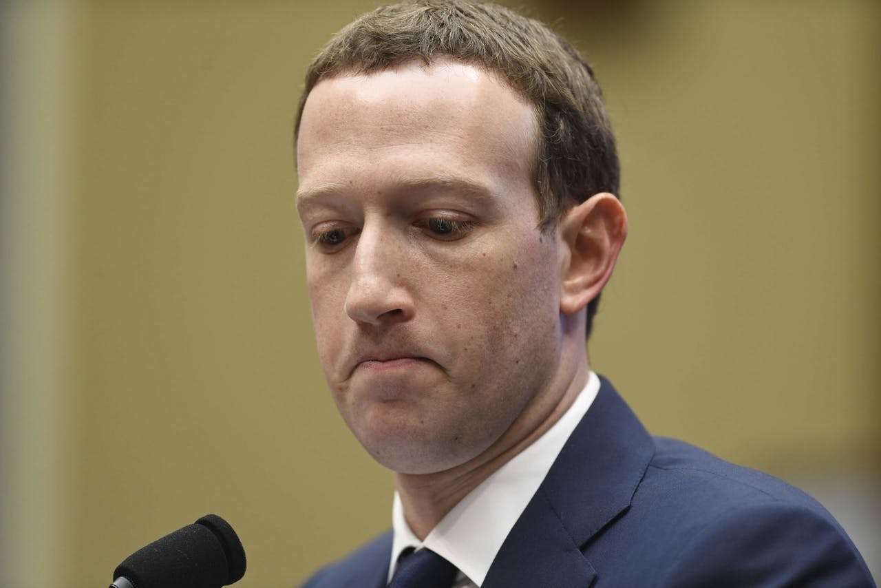 Facebook-CEO en oprichter Mark Zuckerberg