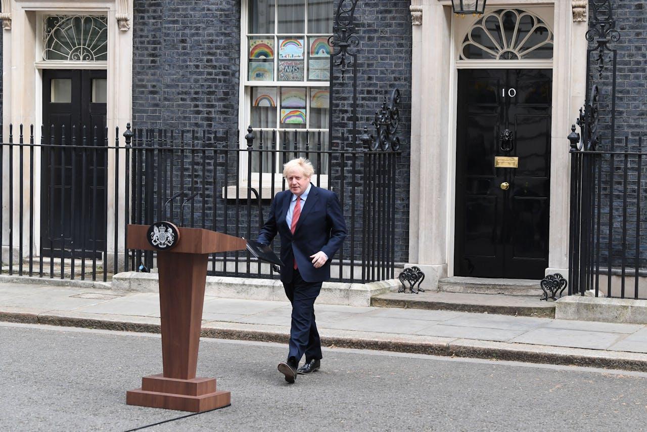 Boris Johnson is terug op vertrouwde grond