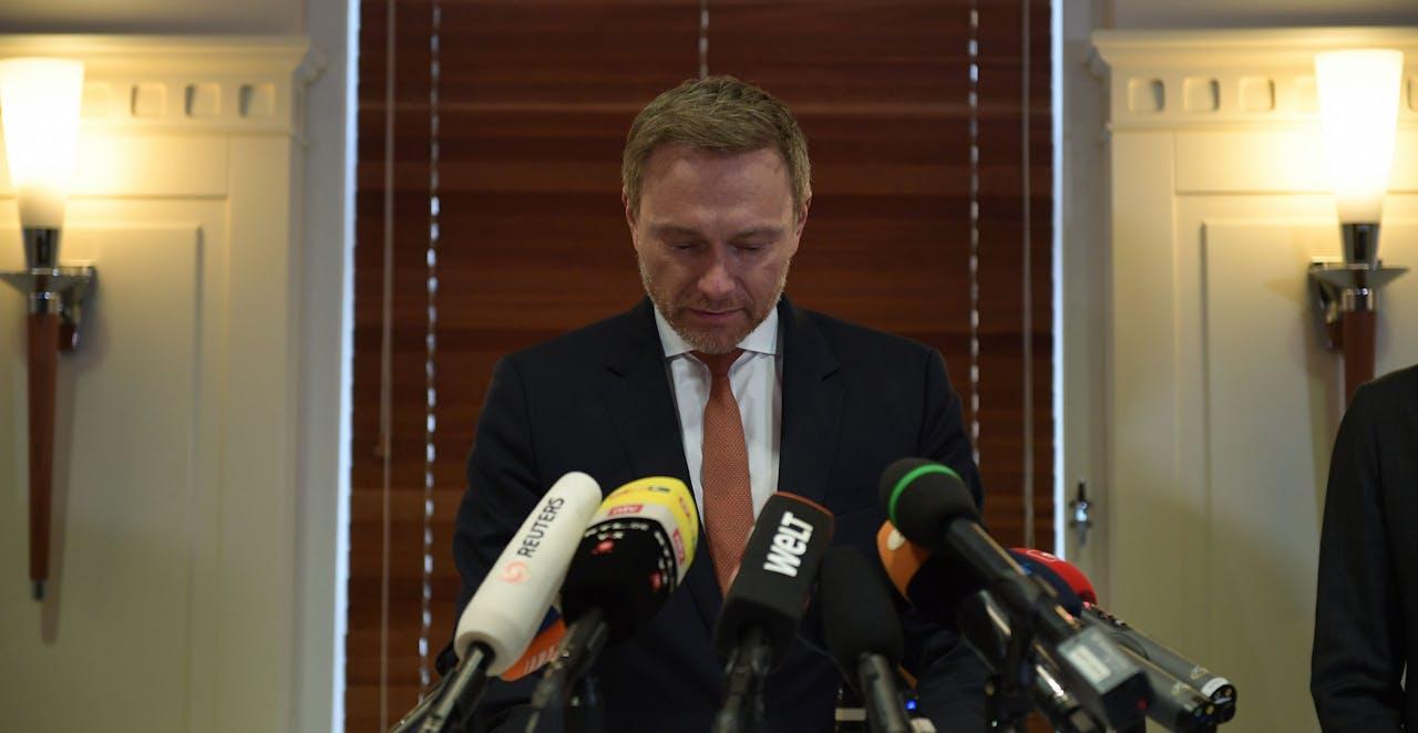 FDP-leider Christian Lindner