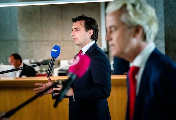 Thierry Baudet & Geert Wilders, leiders van FvD en PVV.