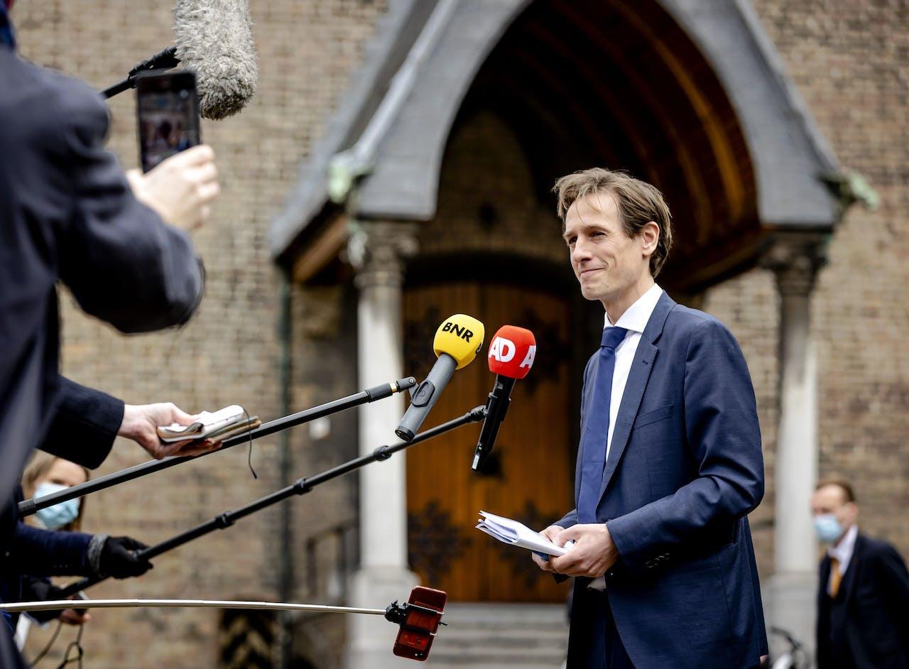 Laurens Dassen is de eerste fractievoorzitter voor Volt in de Twede Kamer.