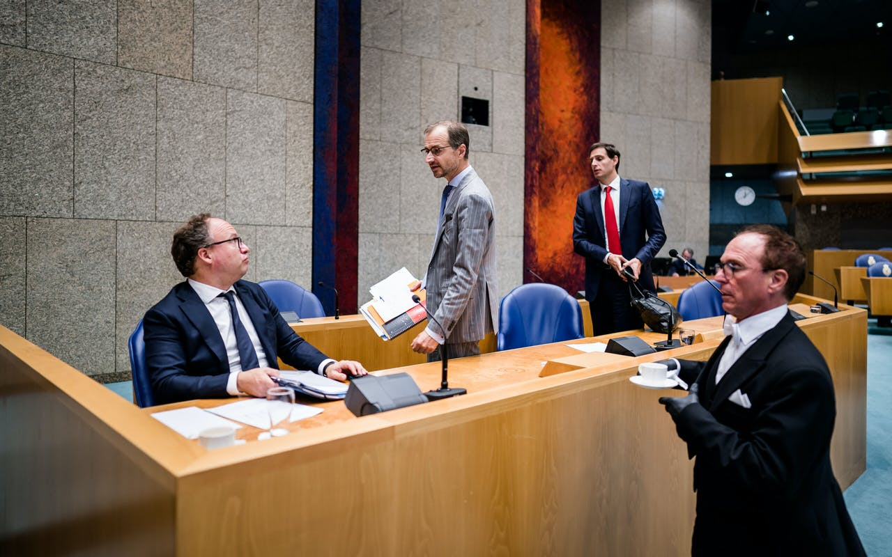 Debat in de Tweede Kamer over het derde steunpakket