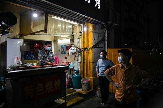 Wuhan Hector Retamal AFP