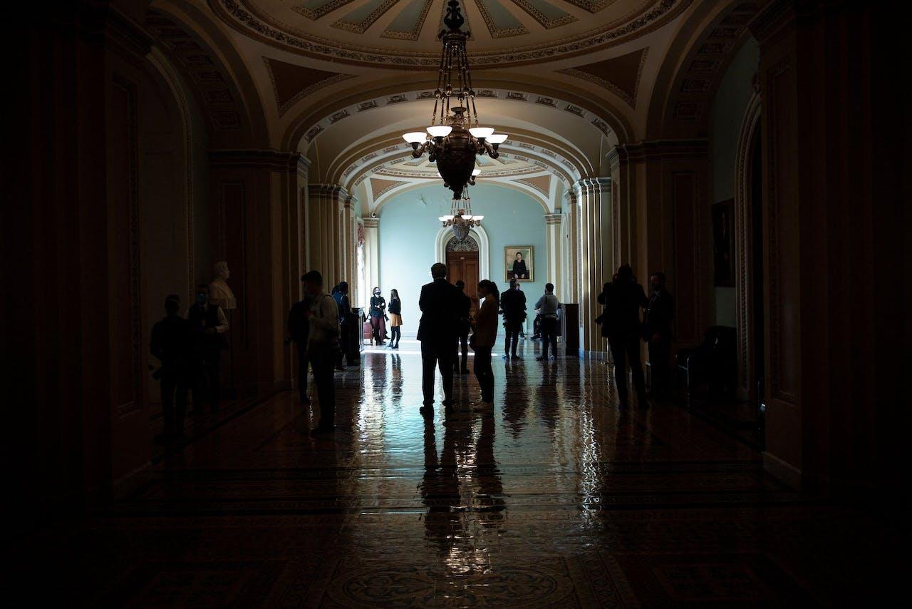 Verslaggevers rond het impeachmentproces