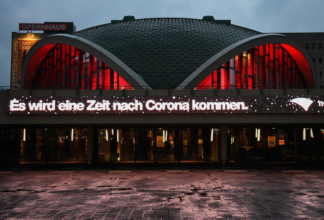De opera in het Duitse Dortmund.