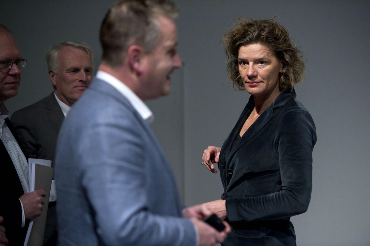 Voormalig wethouder in Amsterdam Carolien Gehrels is nu Directeur Europese Steden bij Arcadis. EVERT ELZINGA