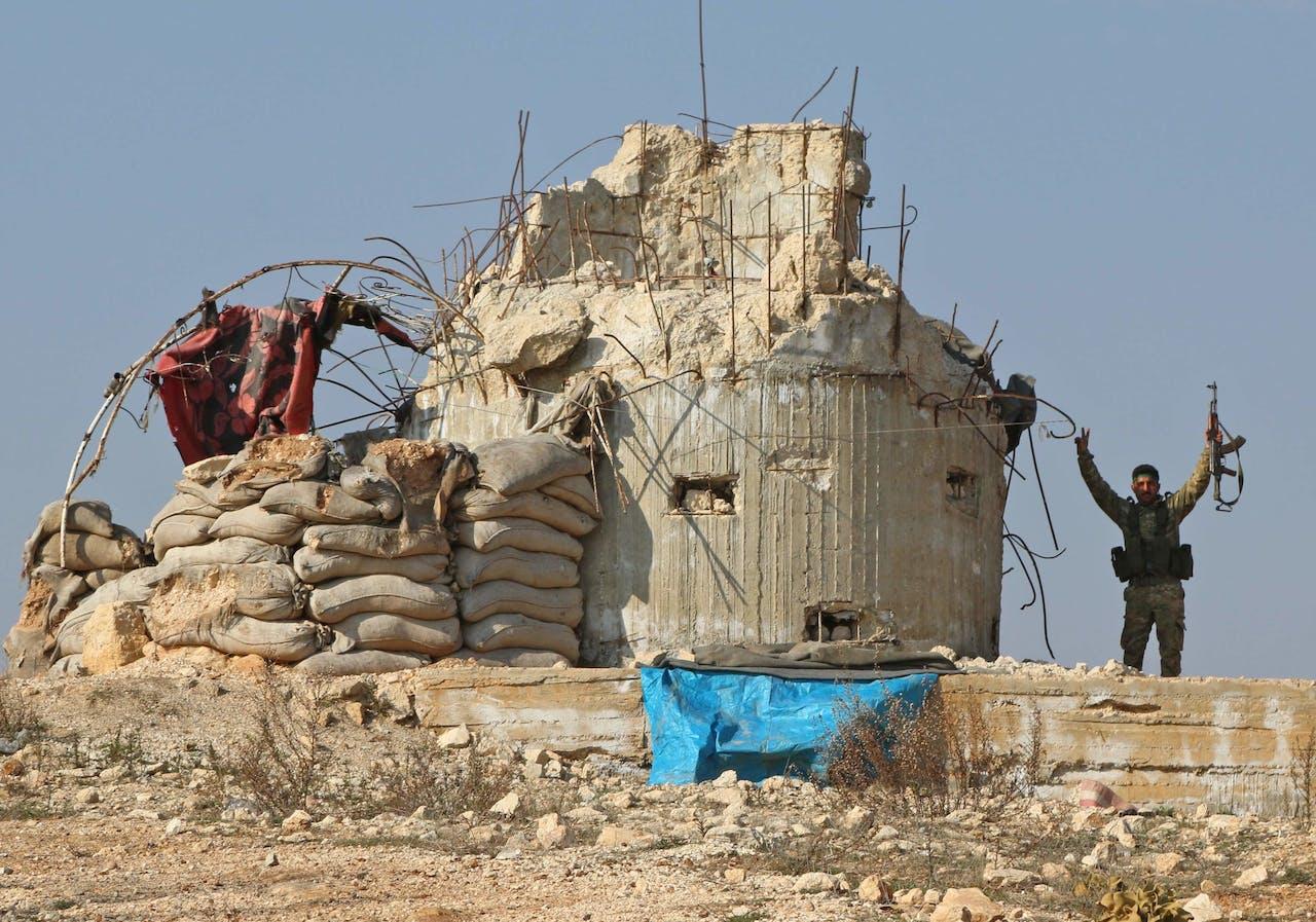 Gevechten bij Afrin.