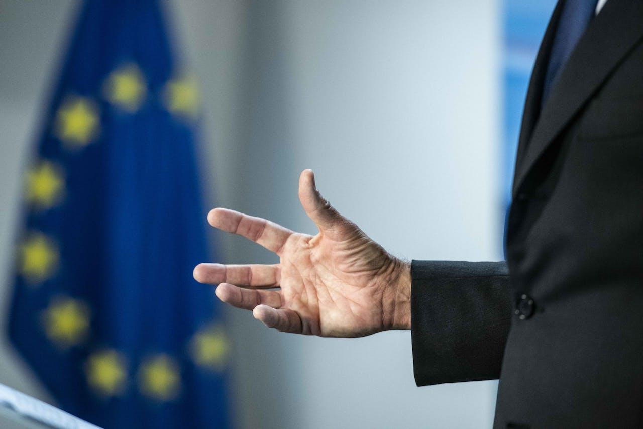 BRUSSEL - Premier Mark Rutte op de Raad van de Europese Unie voor de tweede dag van de Europese top van staats- en regeringsleiders over de migratie.