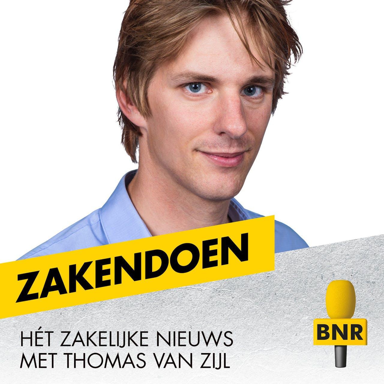 BNR radio vormgeving voor de losse programma's Zakendoen