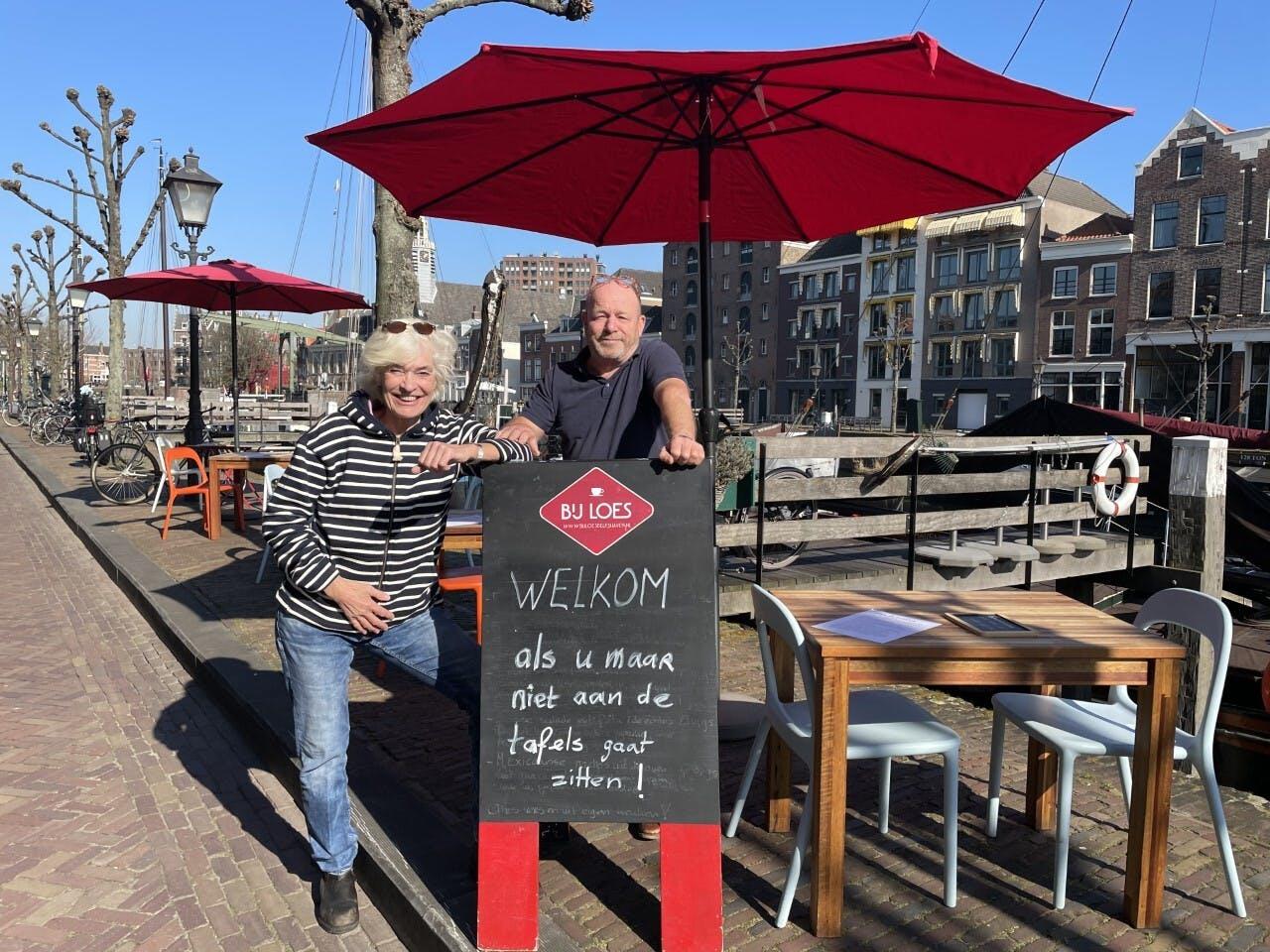 Lunchrestaurant Bij Loes in Delfshaven in Rotterdam