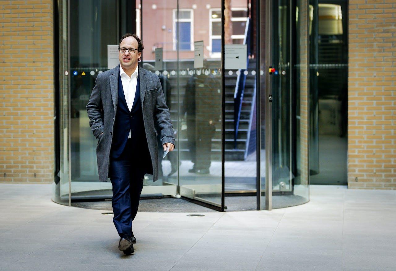 Wouter Koolmees minister van Sociale Zaken en Werkgelegenheid belast met de pensioenproblematiek.