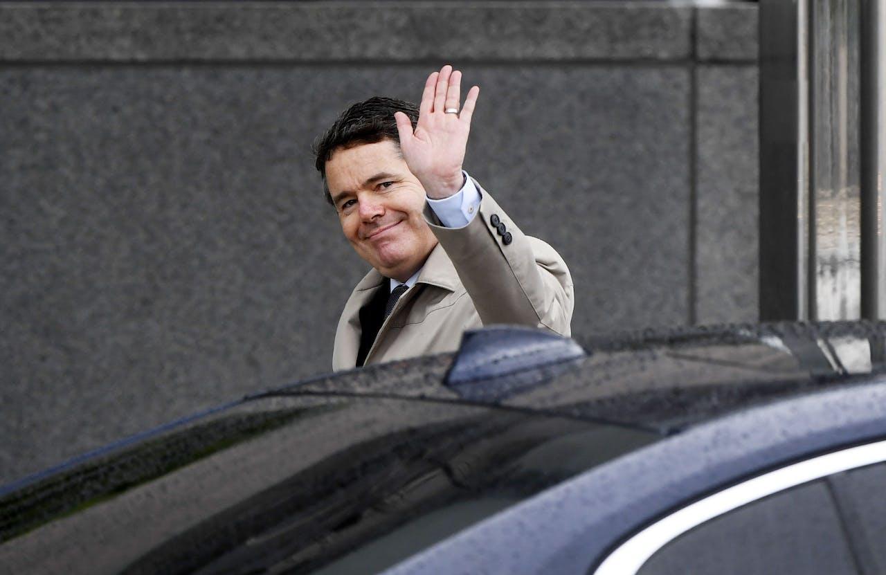 De Ierse minister van financien Paschal Donohoe, nu de nieuwe voorzitter van de Eurogroep