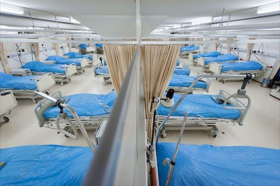 Een low-care ziekenzaal in een Utrechts ziekenhuis