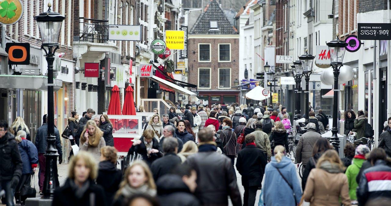 Winkelstraten van Utrecht