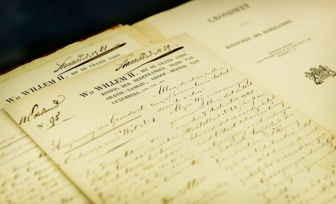 De originele grondwet uit 1848
