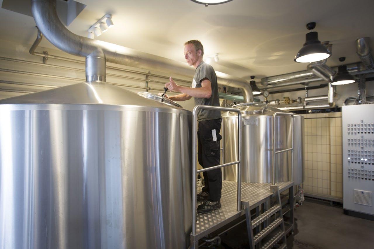 AMSTERDAM - Brouwerij 't IJ in Amsterdam. ANP JEROEN JUMELET