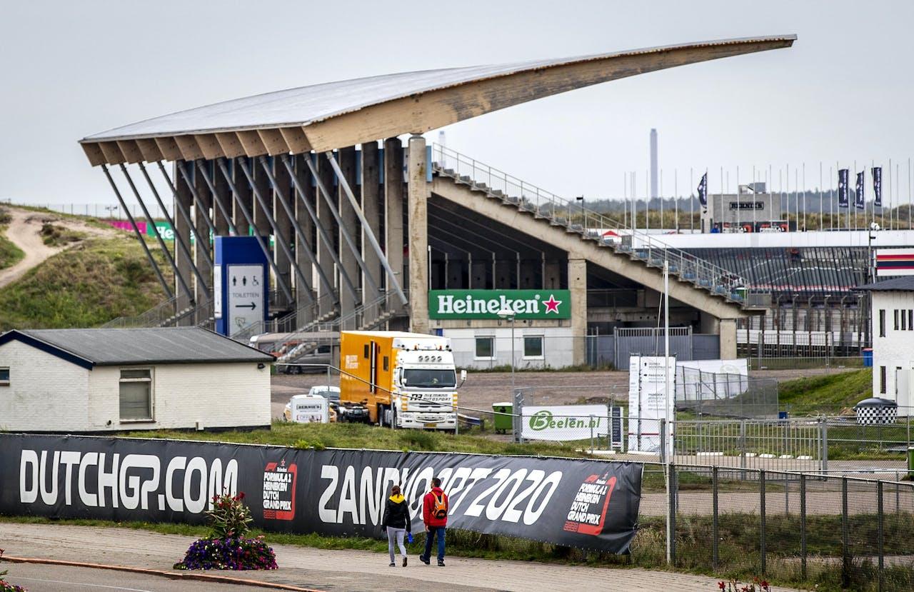 Circuit Zandvoort, waar in 2020 de Dutch GP van de Formule 1 moet worden verreden