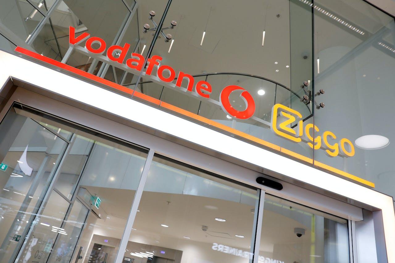 Hoofdkantoor van fusiebedrijf VodafoneZiggo