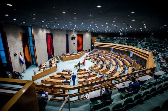 De eerste dag van de Algemene Politieke Beschouwingen, het debat na de troonrede op Prinsjesdag.