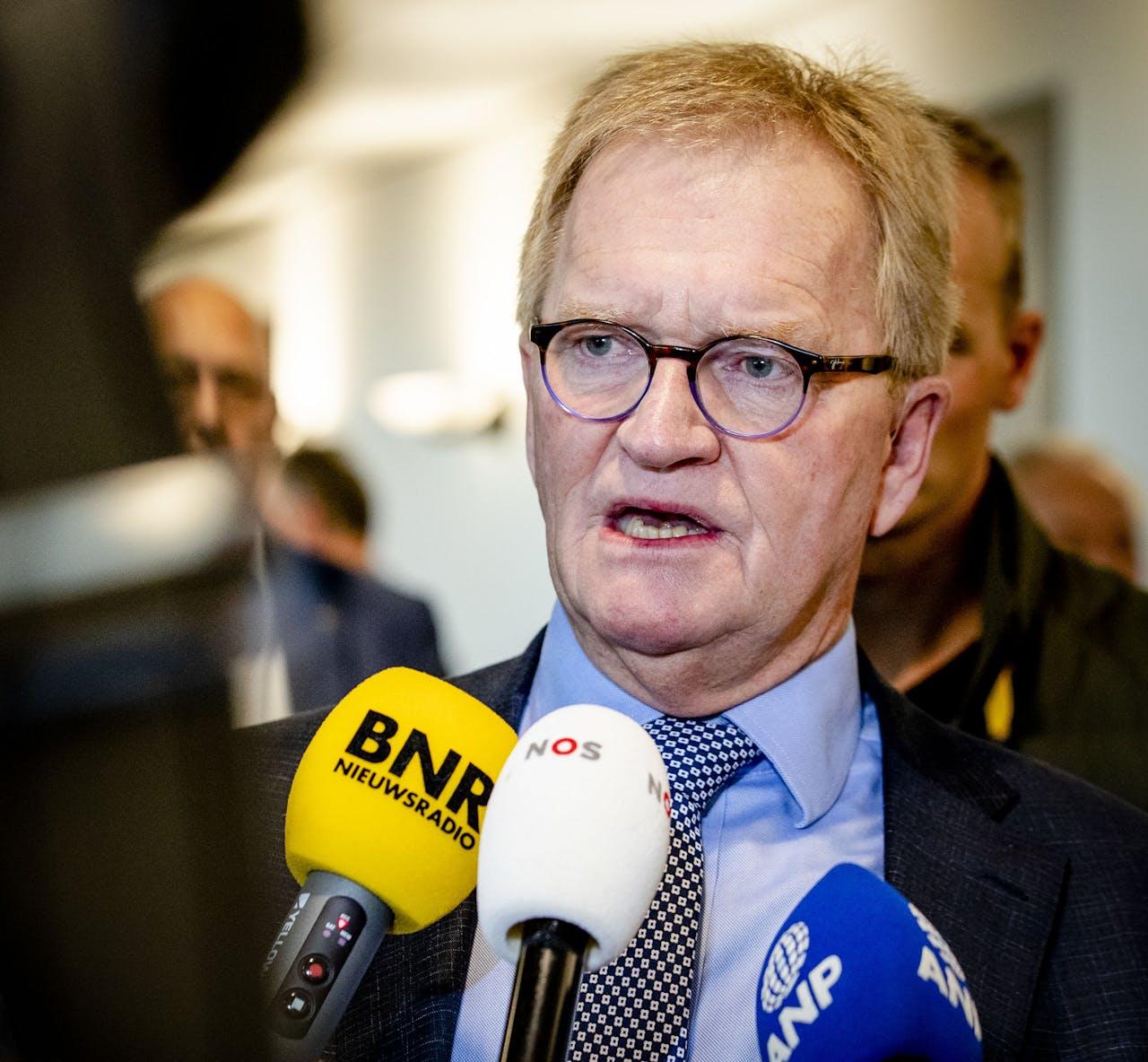 Voorzitter Hans de Boer van VNO-NCW
