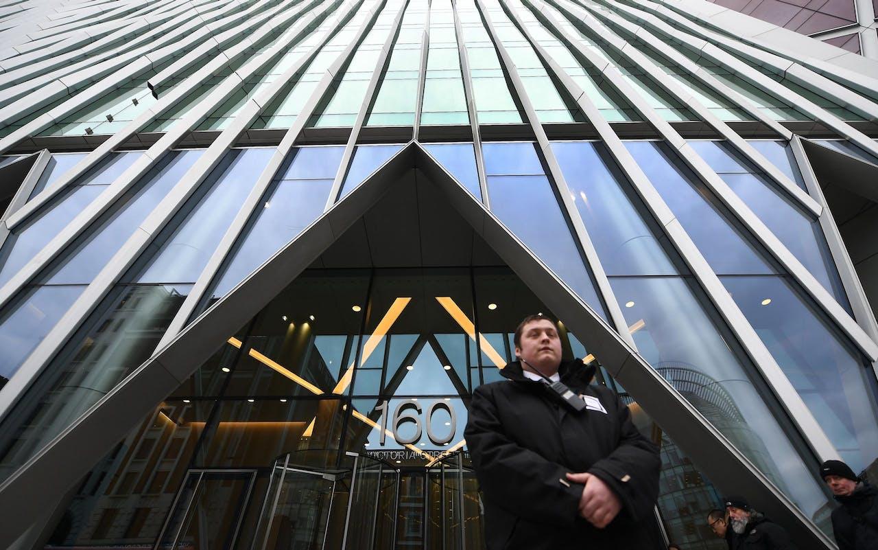 Het hoofdkwartier van het Britse NCSC in Londen.