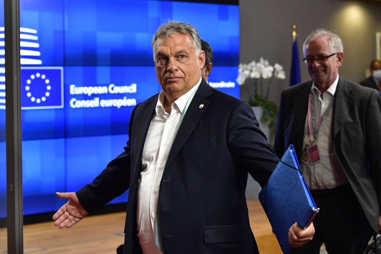 De premier van Hongarije: Viktor Orbán