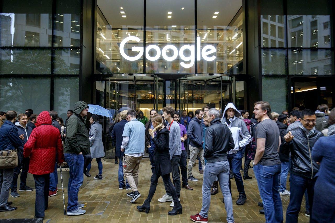Werknemers van Google staakten eind 2018 vanwege het beleid van het bedrijf