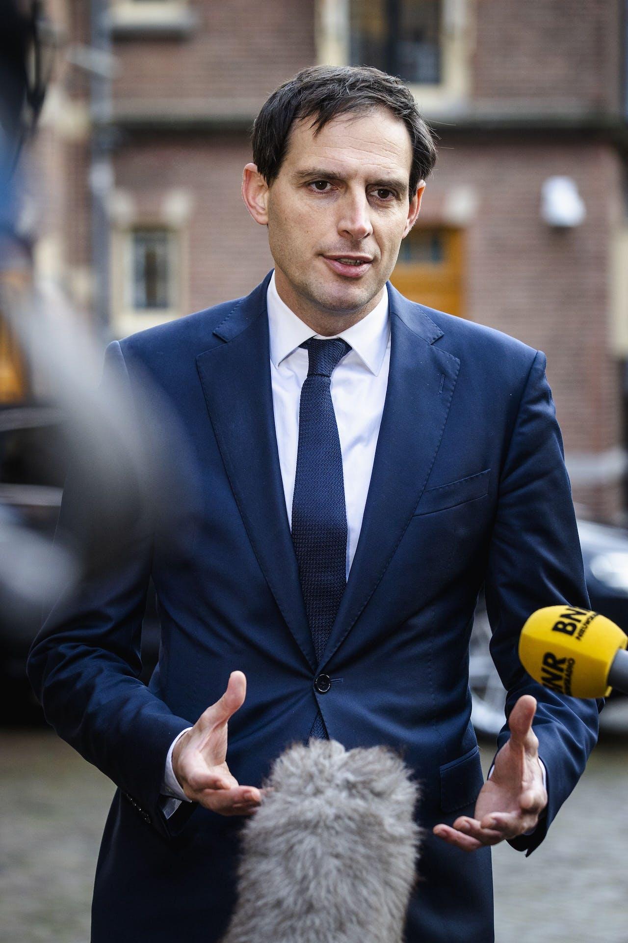 Wopke Hoekstra, minister van Financien
